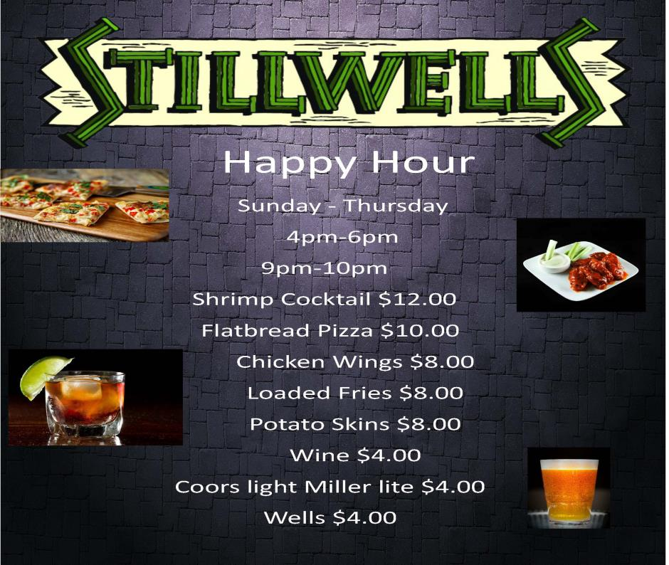 Stillwells Restaurant Happy Hour